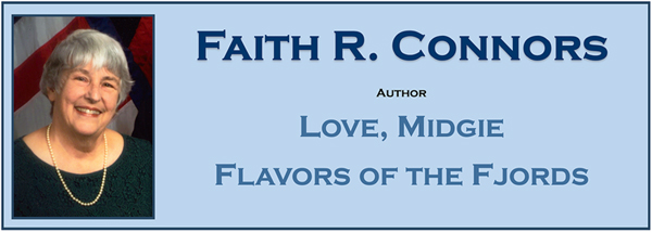Faith R. Connors, author Love, Midgie