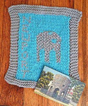 Newport Old Stone Mill knit design